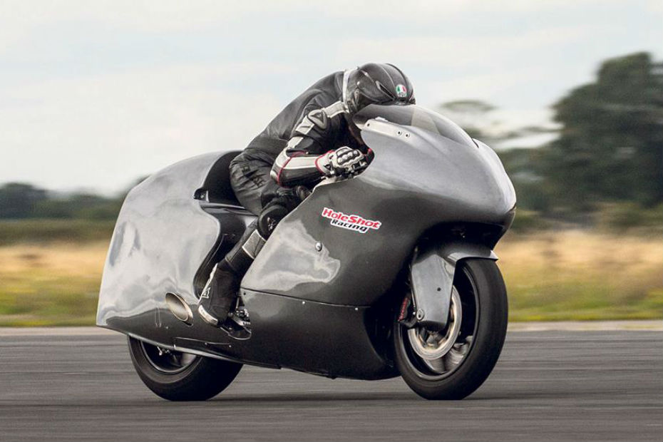 Modified Suzuki Hayabusa Reaches 436kmph!