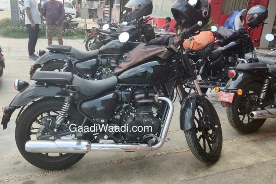 2020 Royal Enfield Thunderbird 350X Assembly Line Version Spotted