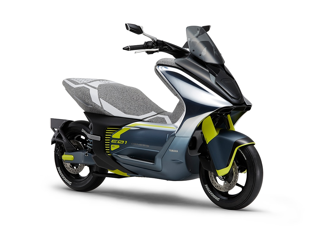 Yamaha E01 E02 Electric Scooters Unveiled Ahead Of Tokyo