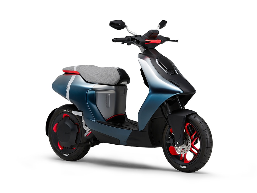 Yamaha E01, E02 Electric Scooters Unveiled Ahead Of Tokyo