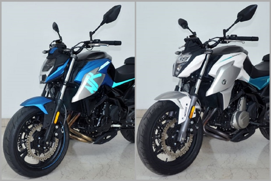2020 CFMoto 400NK, 650NK Spied; Look Slightly More Aggressive