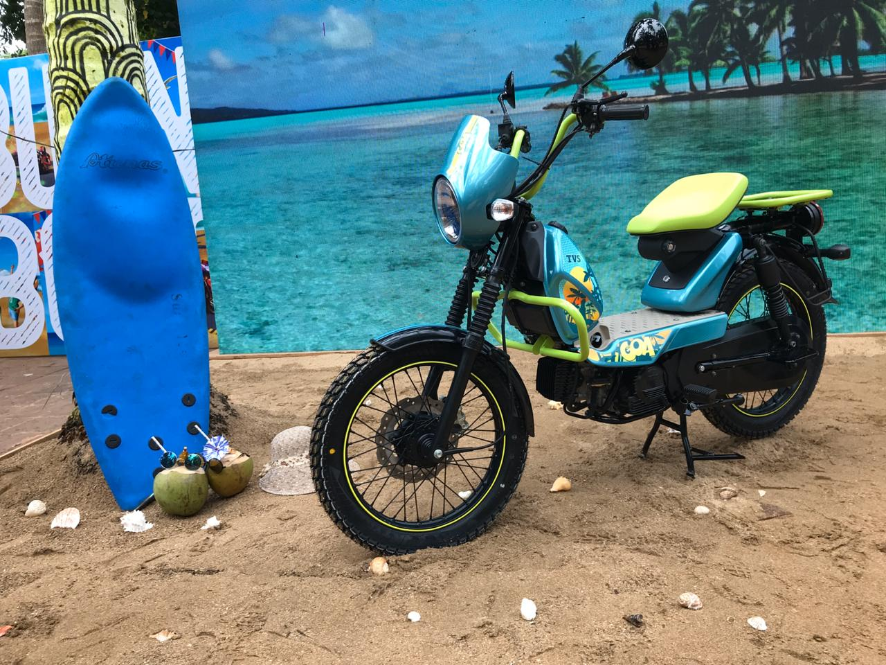 TVS XL 100 Goa: Picture Gallery
