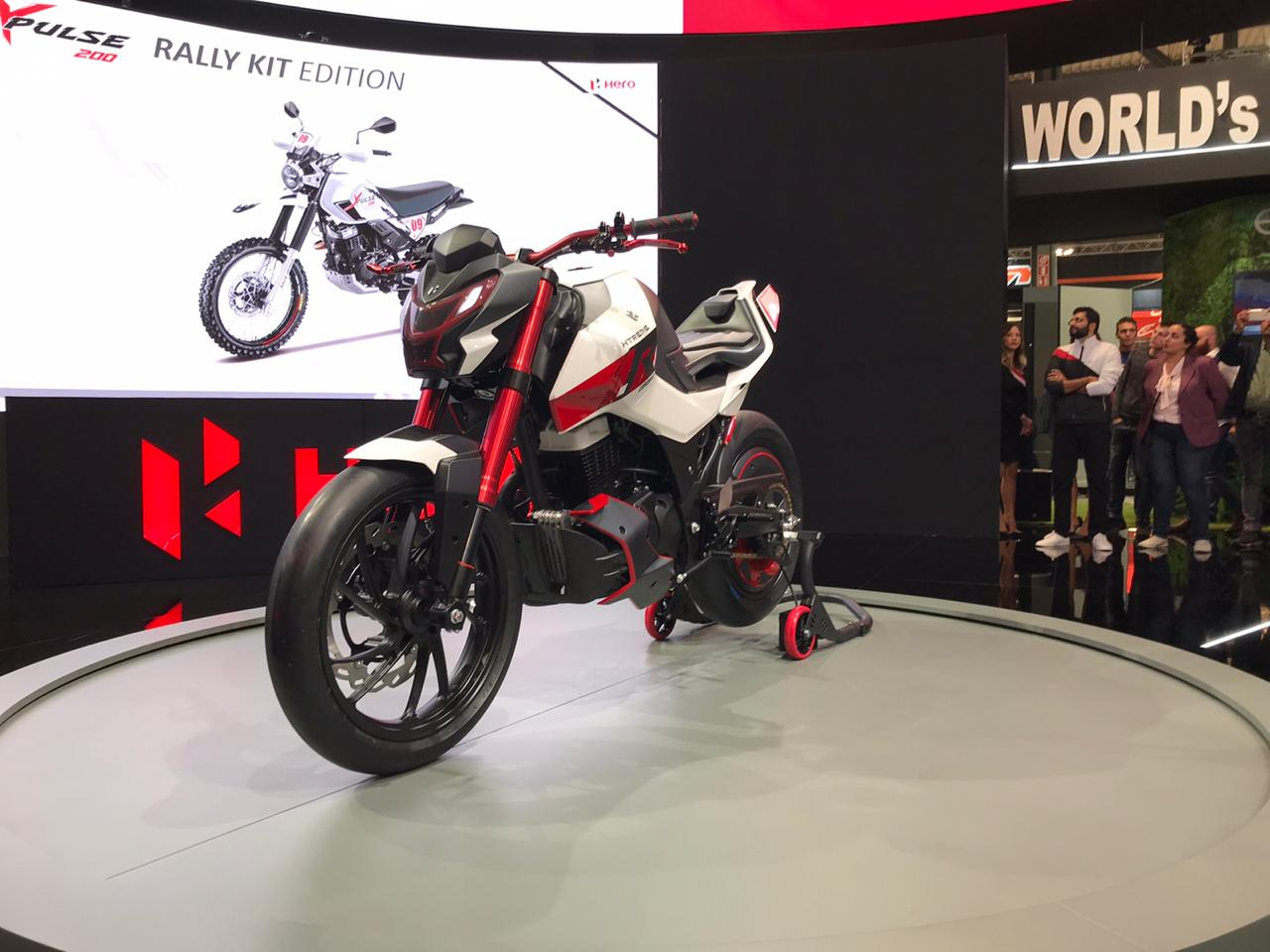 Hero Xtreme 1R Concept Unveiled At EICMA 2019