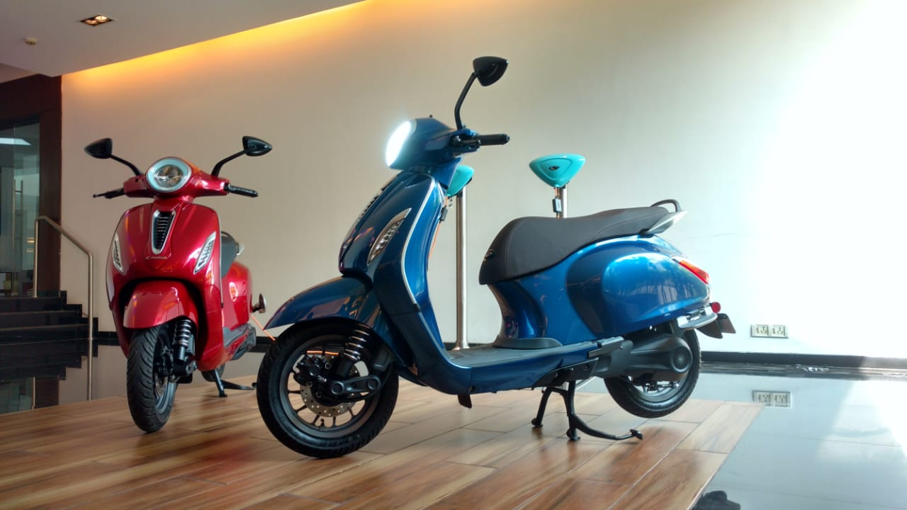 Bajaj Chetak Electric Scooter: Details You Might've Missed
