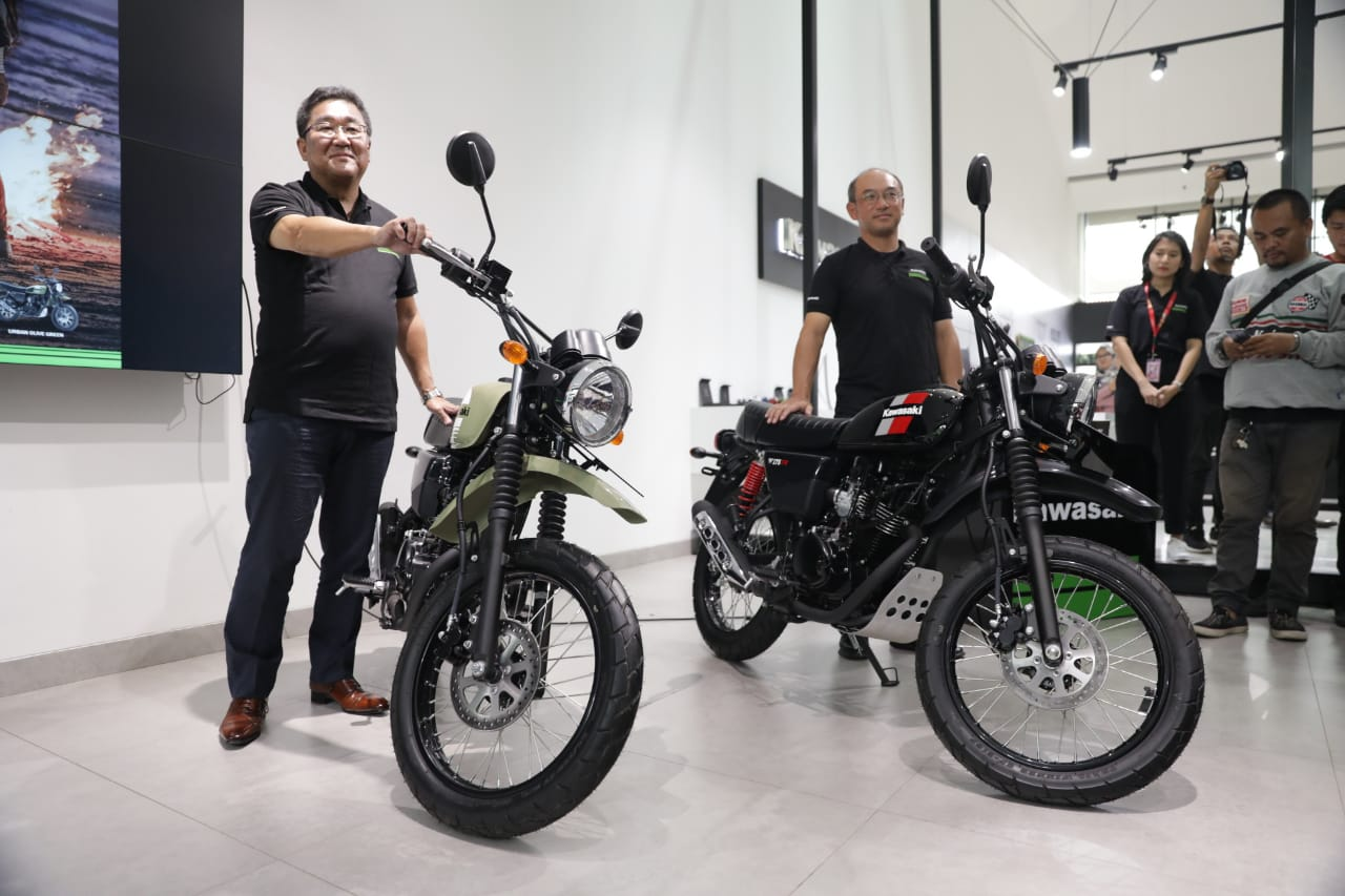 Kawasaki W175TR Launched In Indonesia