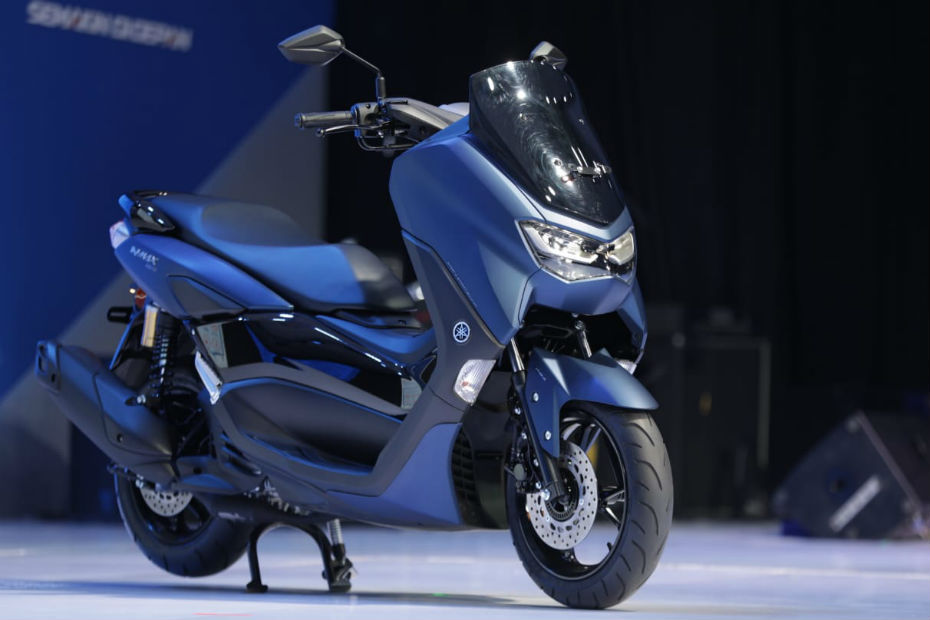 2020 Yamaha NMax 155 Unveiled. Gets Traction Control!