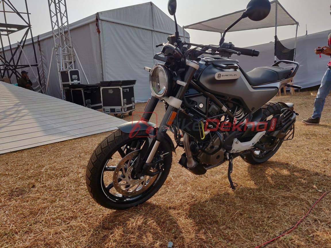 Husqvarna Vitpilen 250 And Svartpilen 250 Unveiled In India