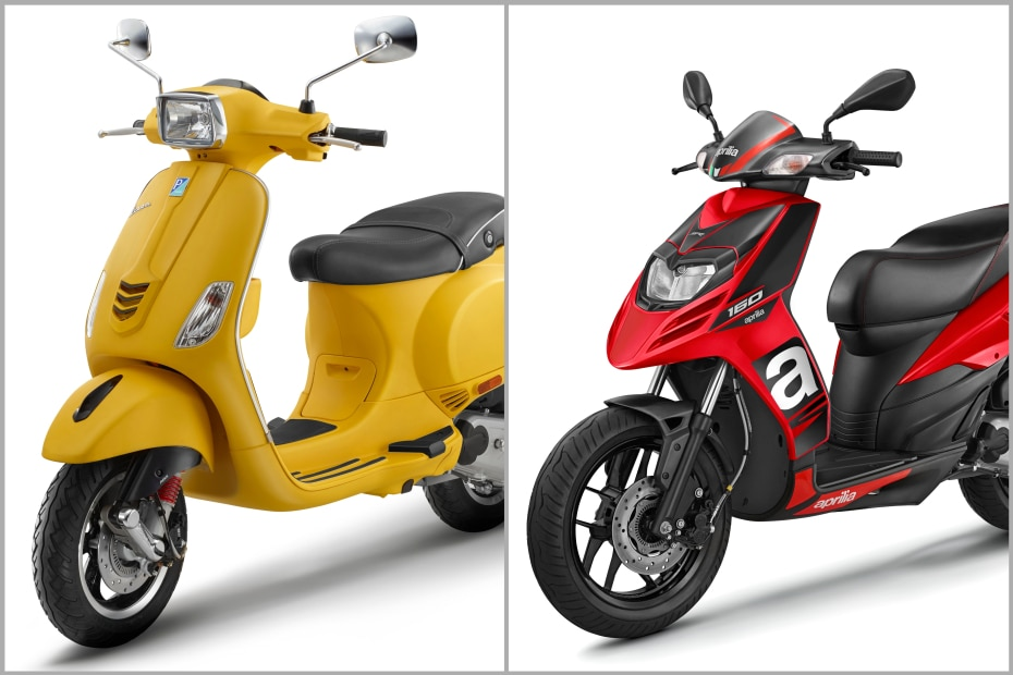 BS6 Vespa And Aprilia Scooter Range Launched In India