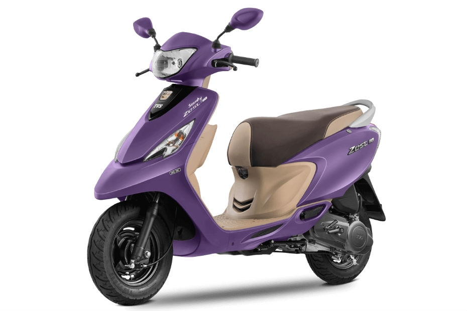 TVS Scooty Zest 110: Same Price, Other Options