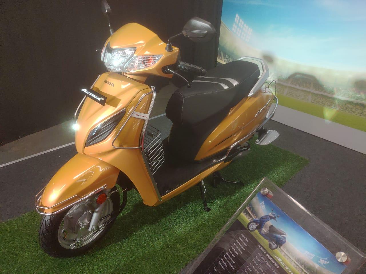 Honda Activa 6G Accessories Revealed