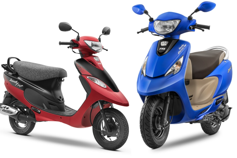 TVS Scooty Zest 110 vs Scooty Pep Plus: Which one to buy