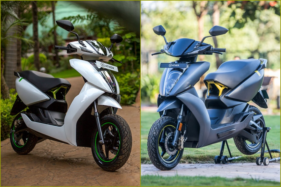 Ather 450X vs Ather 450: Differences Explained