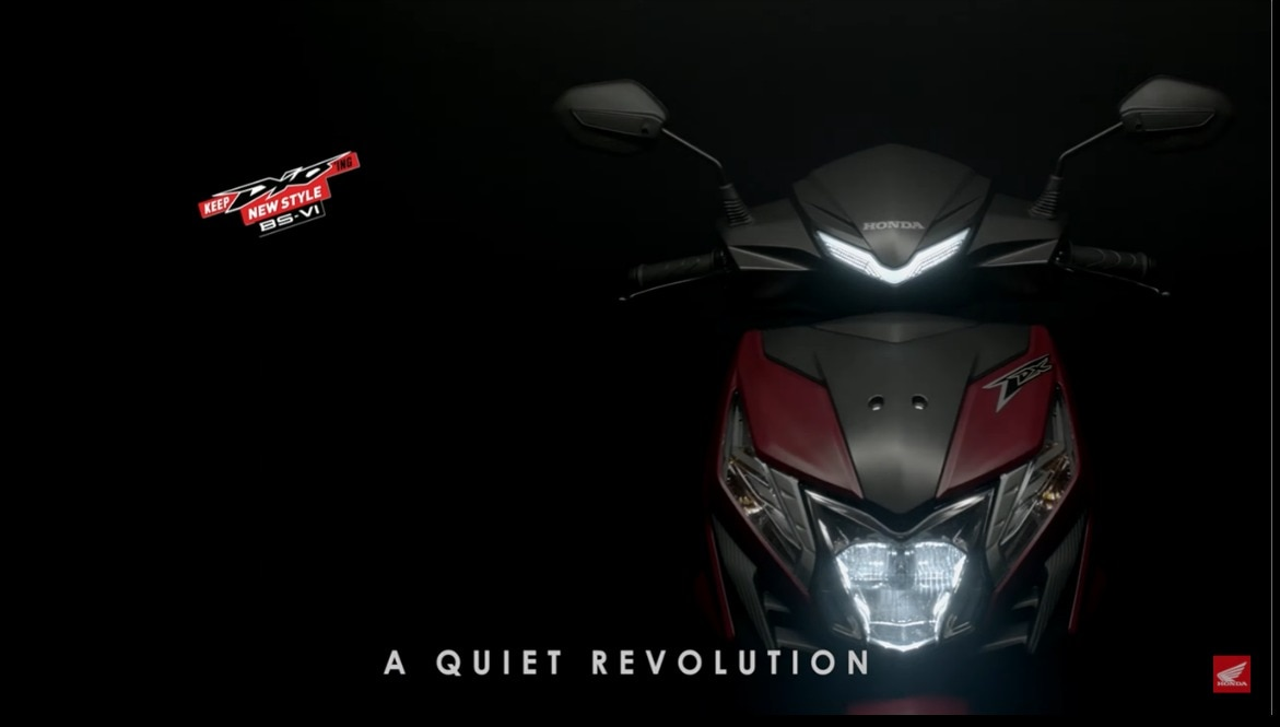 Honda Dio BS6 Teased, Launch Soon