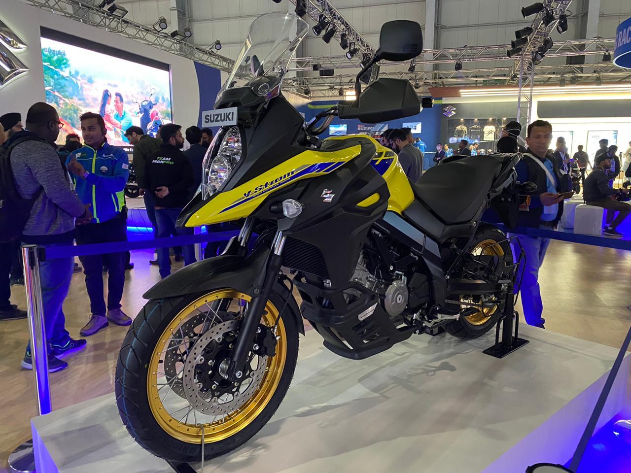 Suzuki V-Strom 650XT BS6 Specs Revealed