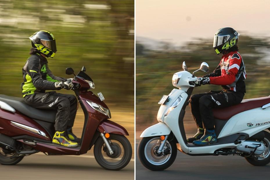 Suzuki Access 125 BS6 vs Honda Activa 125 BS6: Real-world Performance Comparison