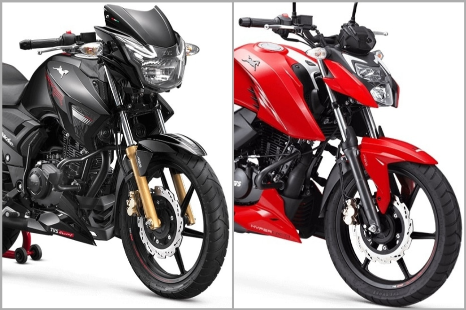 TVS Apache RTR 180 BS6 vs TVS Apache RTR 160 4V BS6: Which One To Buy?