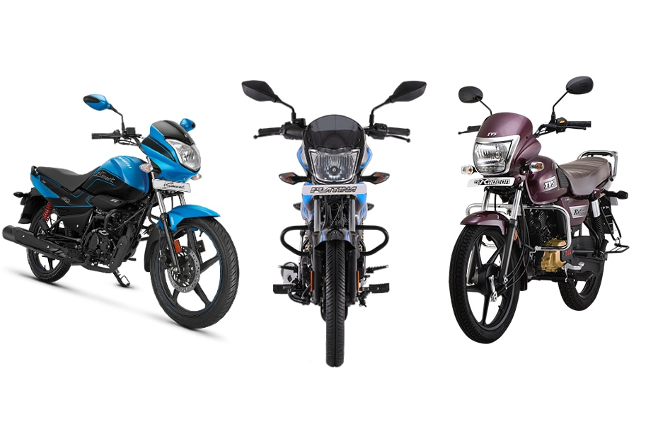 TVS Radeon BS6 vs Bajaj Platina 110 H-Gear BS6 vs Hero Splendor iSmart BS6: Spec Comparo