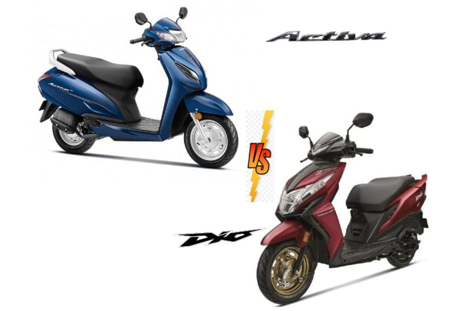 Honda Activa 6G vs Honda Dio BS6: Family Feud