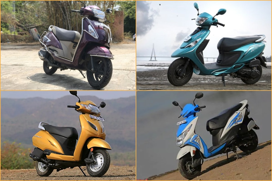 Best Used 110cc Scooters: Honda Activa & Dio, TVS Jupiter & More