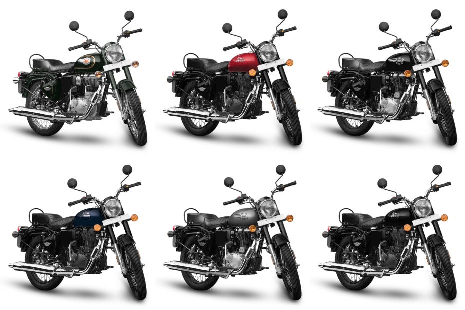 Royal Enfield Bullet 350 BS6: Which Colour To Pick?