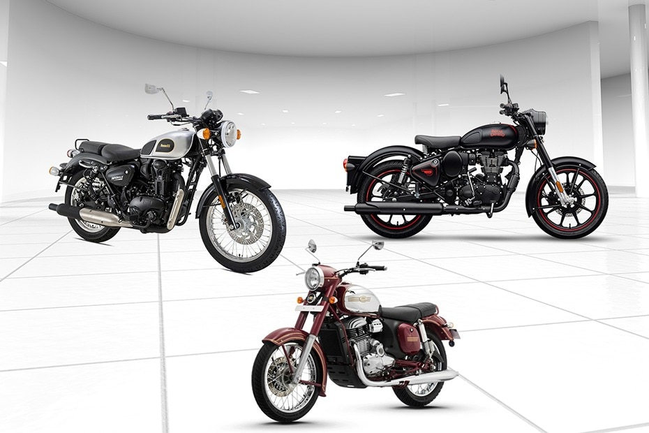 Benelli Imperiale 400 BS6 vs Royal Enfield Classic 350 BS6 vs Jawa BS6: Specification Comparison