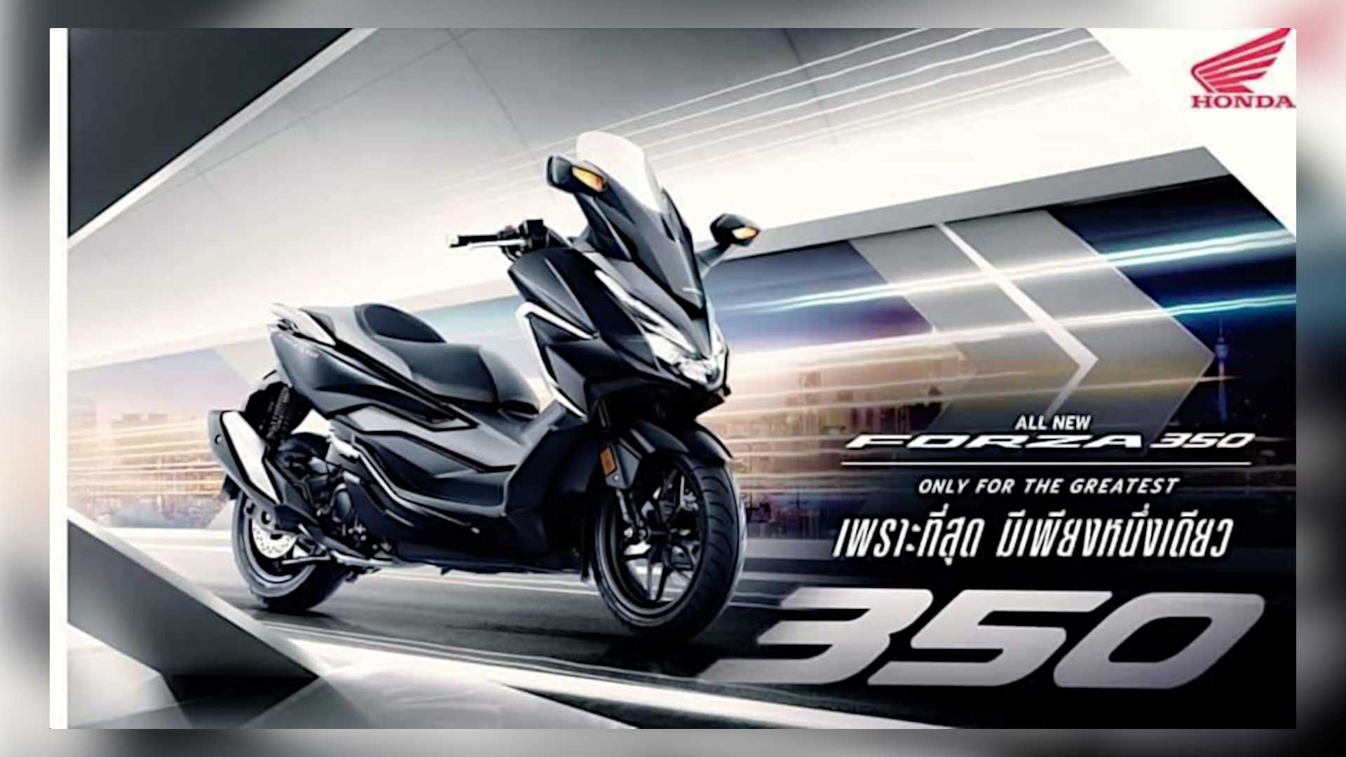 Honda Forza 350 Launched In Thailand
