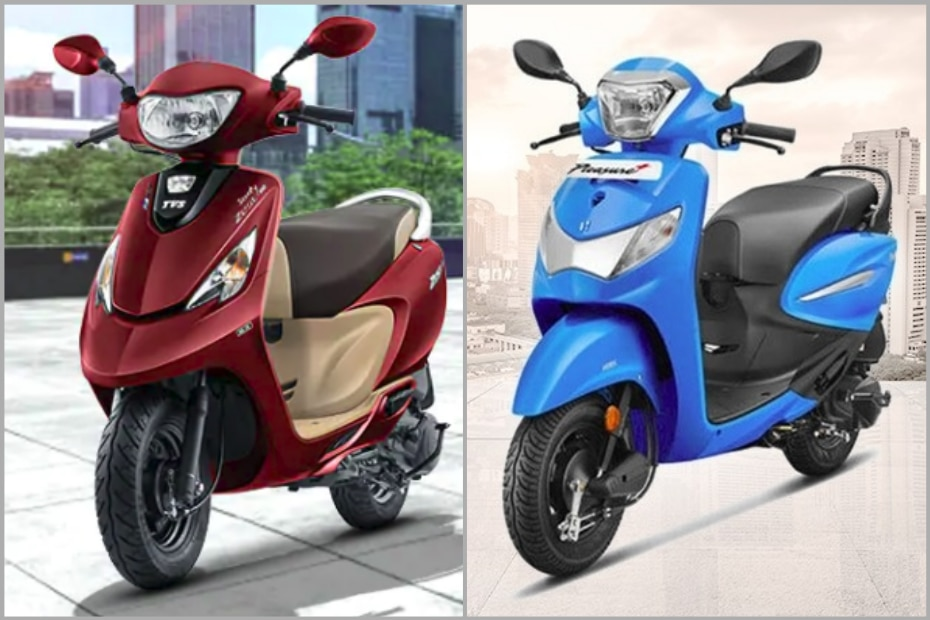 TVS Scooty Zest 110 BS6 vs Hero Pleasure Plus BS6: Specification Comparison