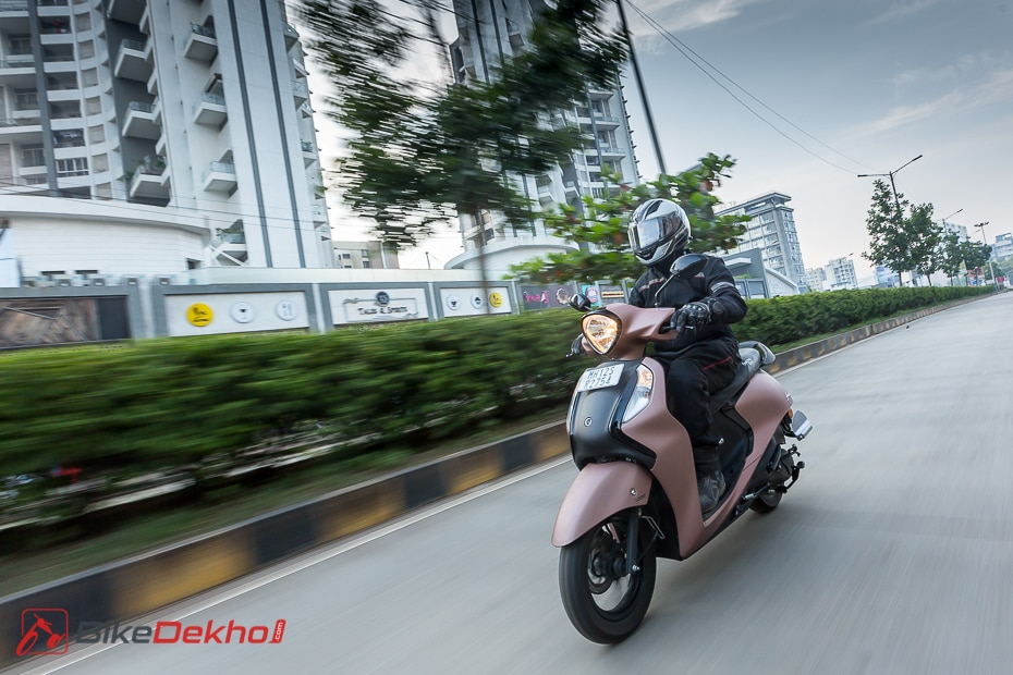 Yamaha Fascino 125 BS6 Road Test Review