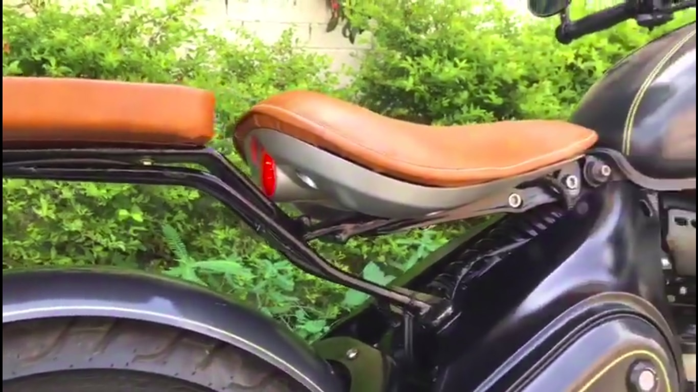 Check Out This Jawa Perak Modified With A Pillion Seat