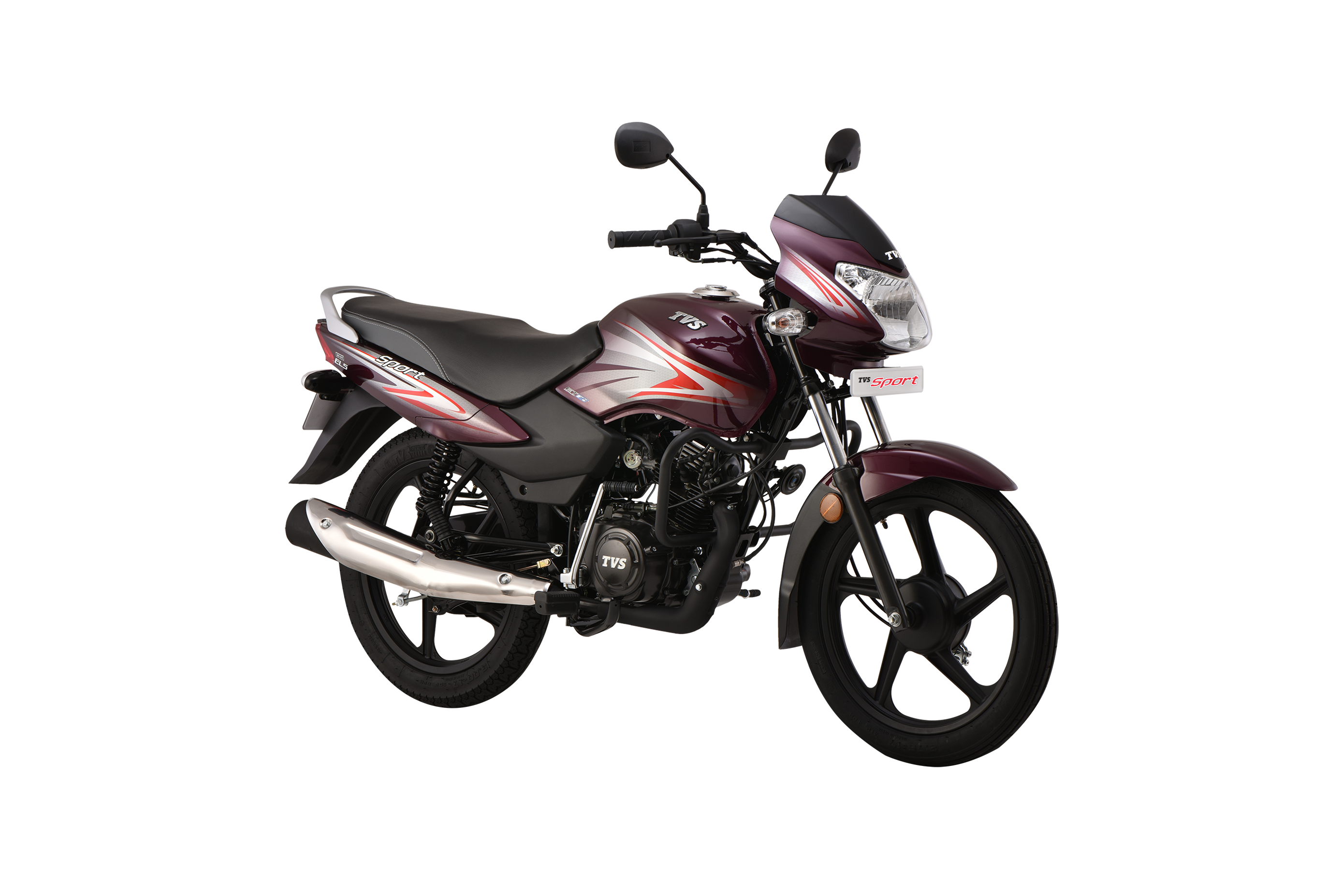 TVS Sport BS6 Sets Record For On-Road Fuel Efficiency