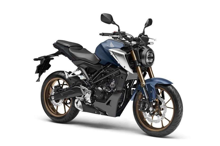 2021 Honda CB125R Unveiled Overseas | BikeDekho