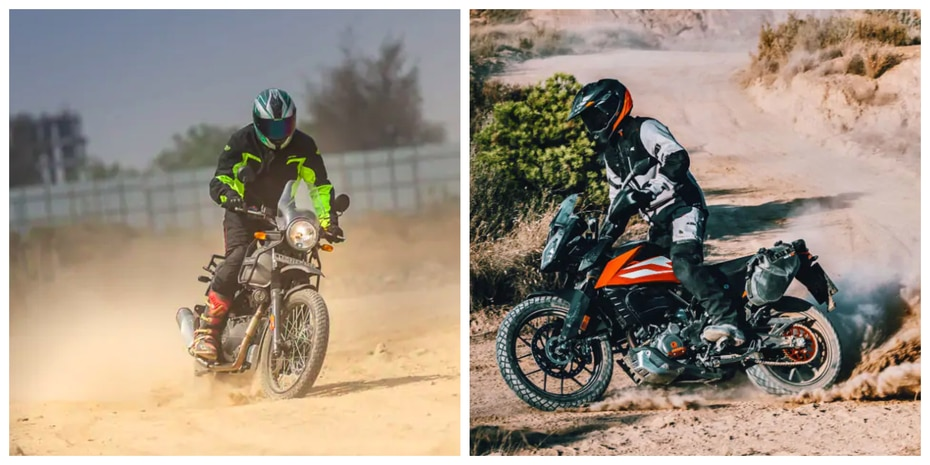 KTM 250 Adventure vs Royal Enfield Himalayan: Spec Comparison