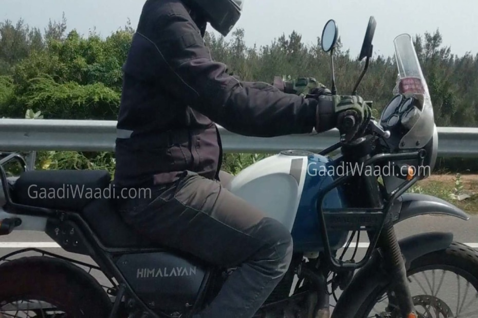 Royal Enfield Himalayan Spotted With Tripper Navigation System
