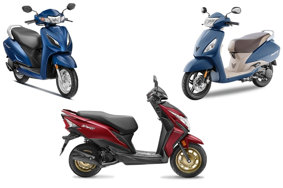 Best-selling Scooters In India: Honda Activa, Suzuki Access, TVS Jupiter & More!