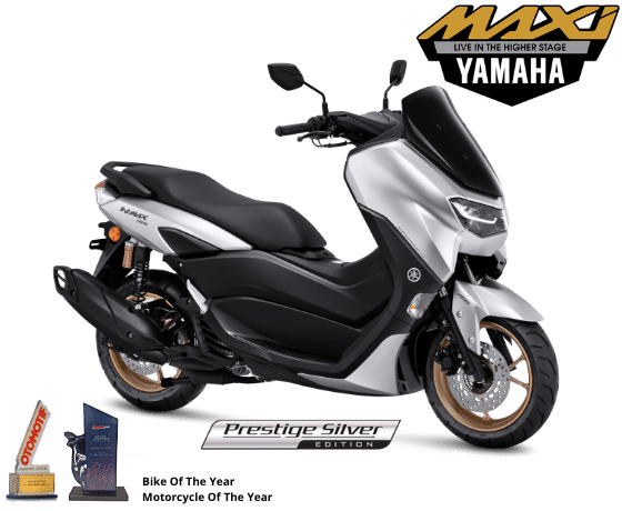 Yamaha NMax 155 Shines In New Silver Colour
