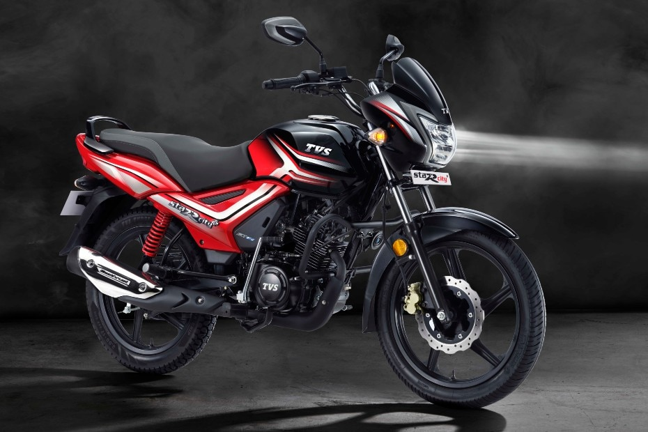 TVS Star City Plus With Front Disc Brake Launched