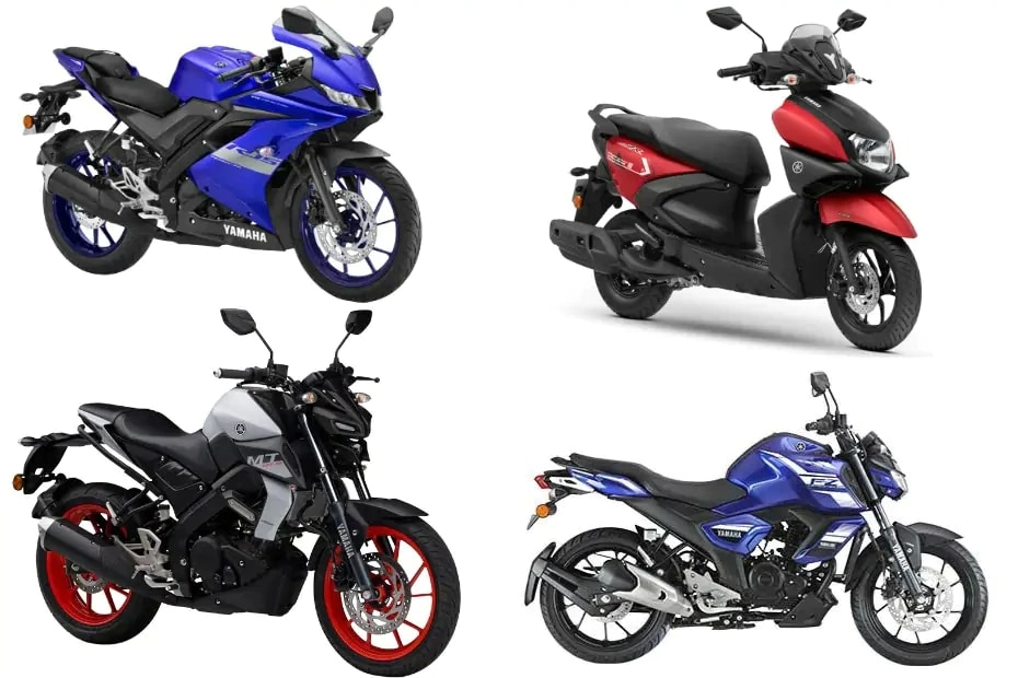 Yamaha Bikes And Scooters June Price List: R15, MT-15, FZ-S FI, Fascino 125 And More