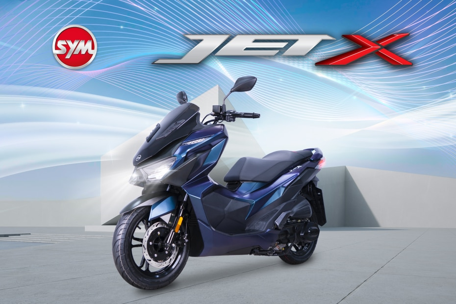 SYM Jet X 150 Maxi-scooter Makes Its Debut In Malaysia
