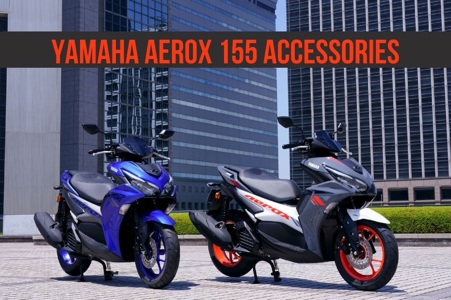 Yamaha Aerox 155: Official Accessories Revealed