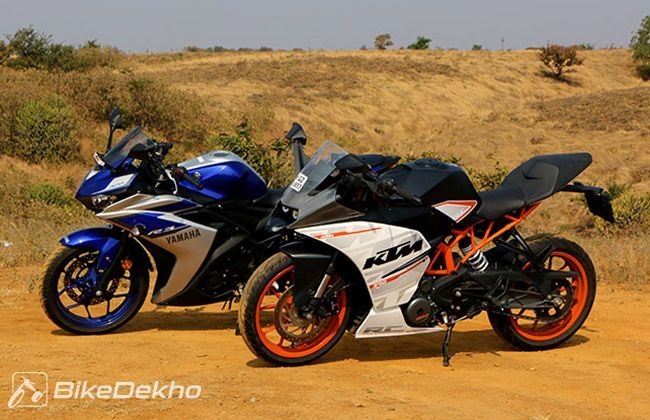 ktm bikes prices, images, specs, reviews | bikedekho