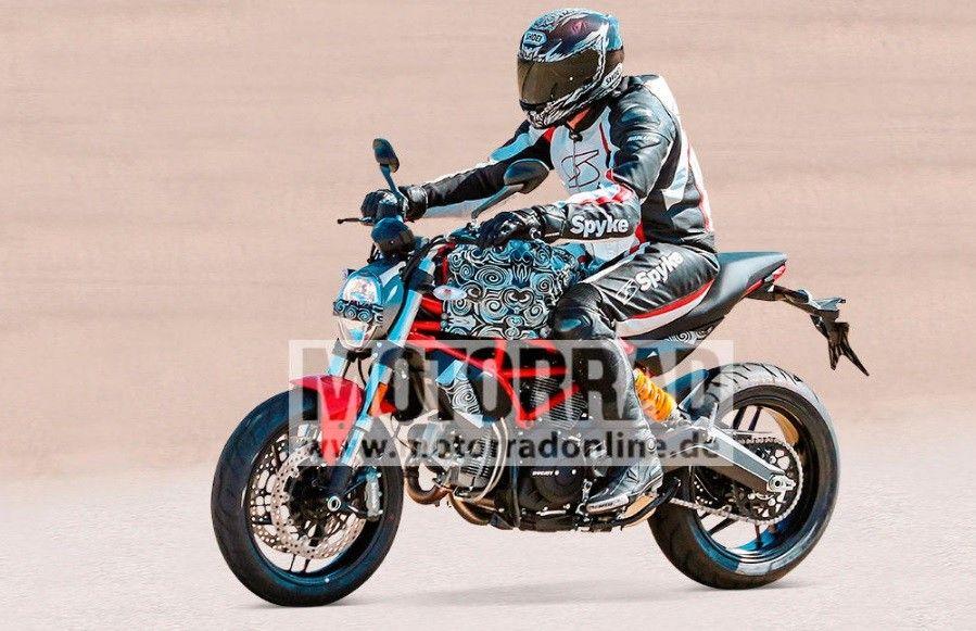 Entry Level Ducati Monster In Making