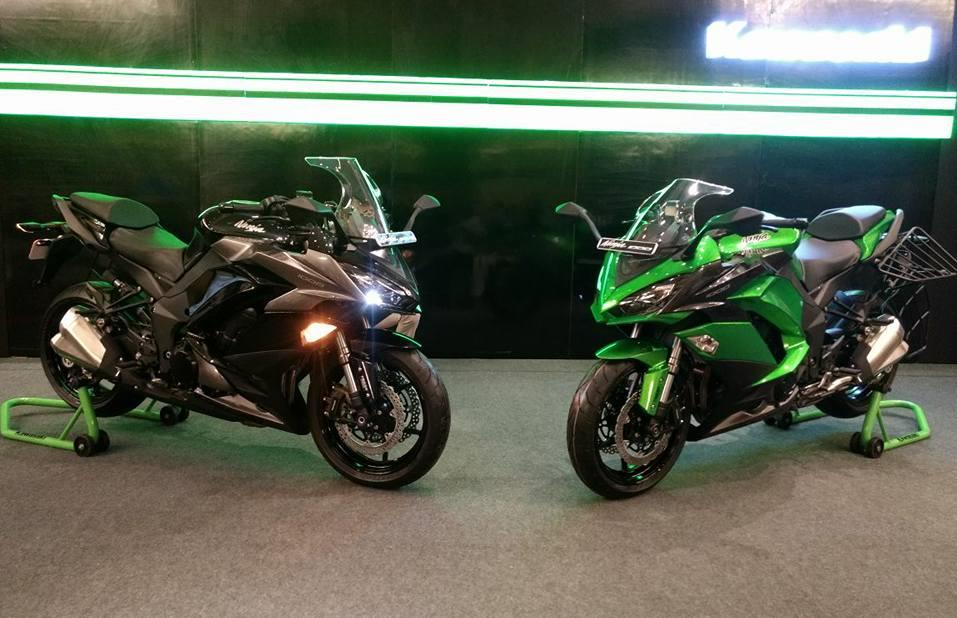 Launched Bs Iv Kawasaki Ninja 1000 And Z900 Sans Accessories