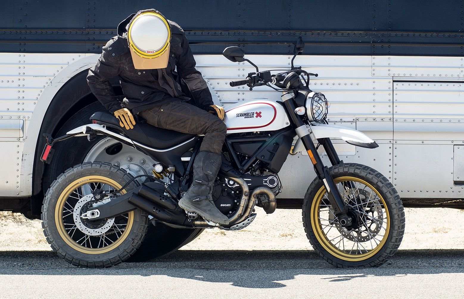 Ducati Scrambler Desert Sled launch