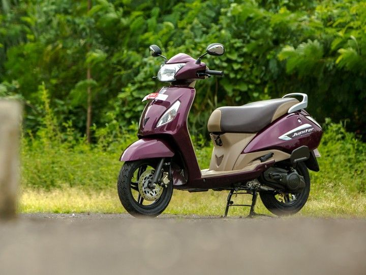 Best Scooters of 2016: TVS Jupiter MillionR Edition