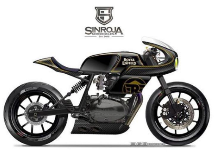 This Is The Custom Concept Of The Royal Enfield Continental Gt 650