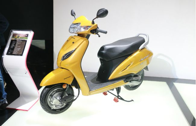 Honda Activa 5g First Look Bikedekho