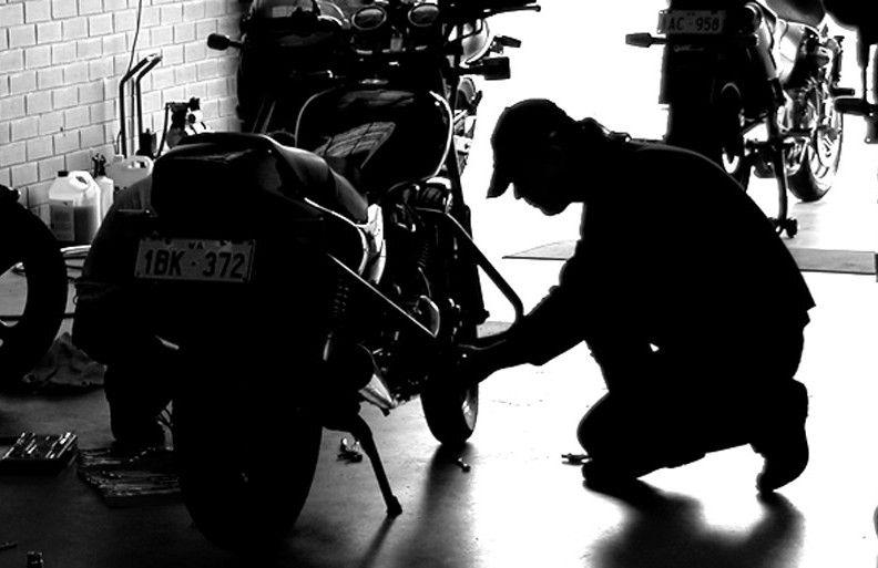 Scheduled motorcycle maintenance